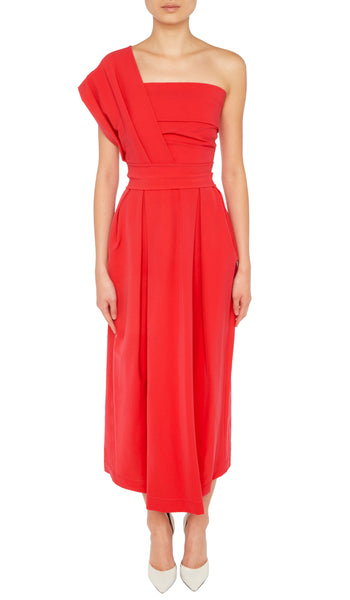 RE18 ACE DRESS RED
