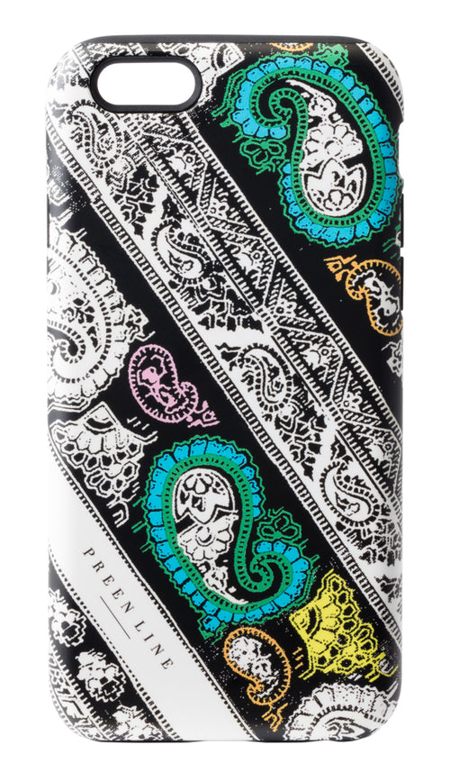 PREEN LINE LUXURY DESIGNER PANELLED PAISLEY iPHONE CASE ON SALE