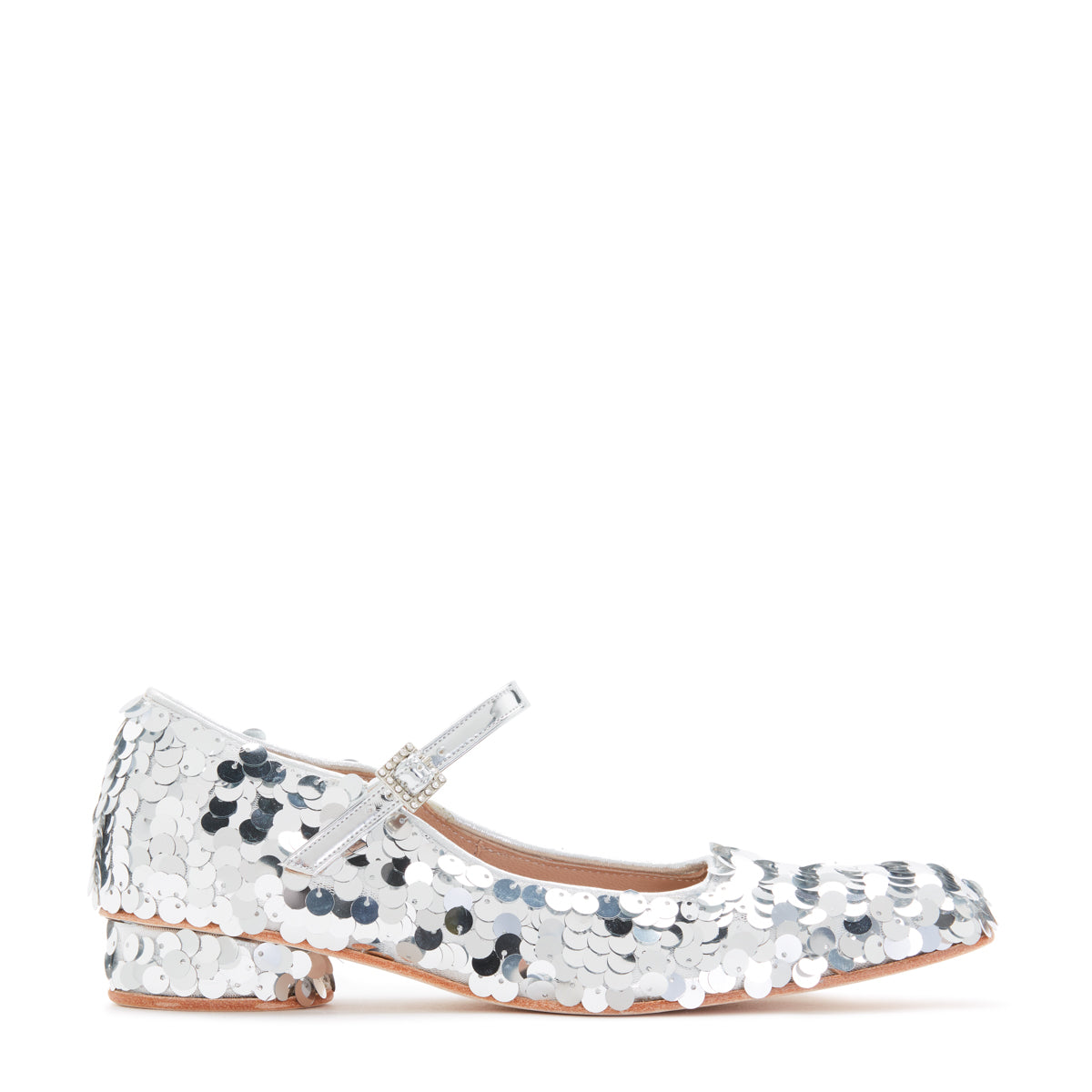 SS18 LOW DOLLY SHOE SEQUIN