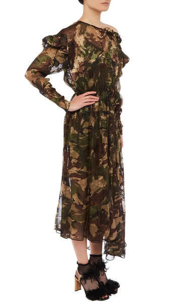 STEPHANIE DRESS CAMOUFLAGE