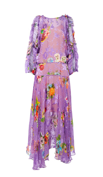 SS18 ERMIN DRESS PURPLE