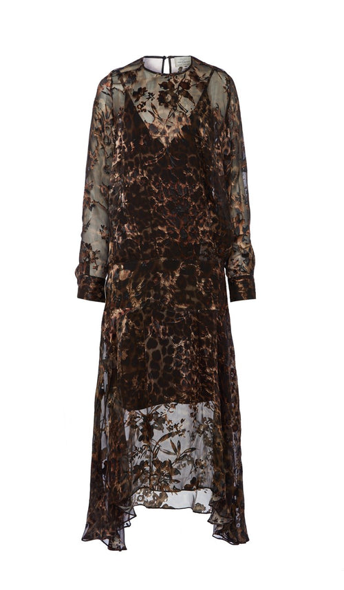 ANDREA DRESS LEOPARD