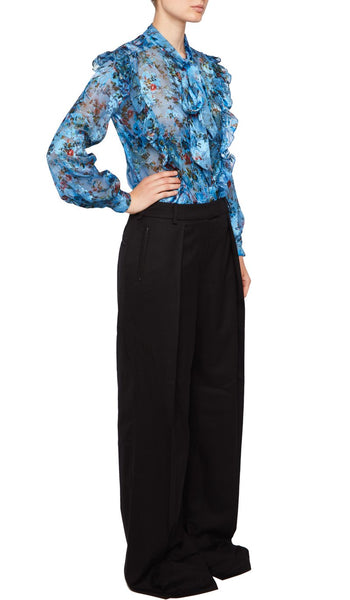 ZINNA BLOUSE BLUE