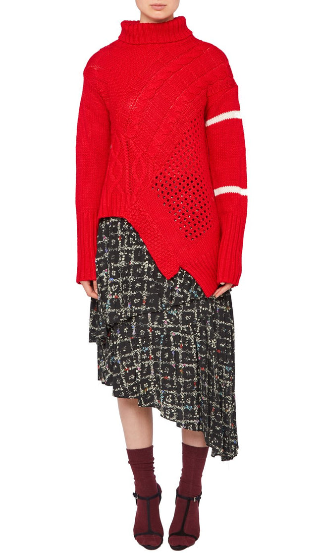 SERENITY JUMPER RED