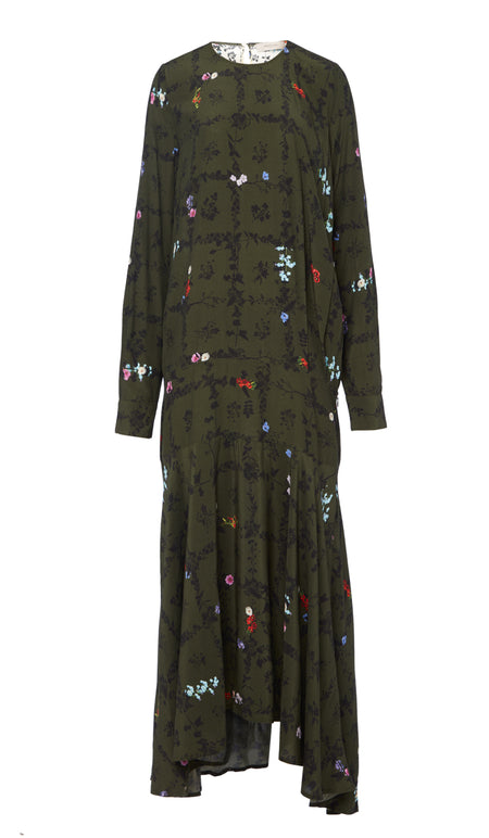 PF18 SALOME DRESS GREEN