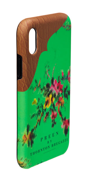 IPHONE CASE EMERALD GARLAND
