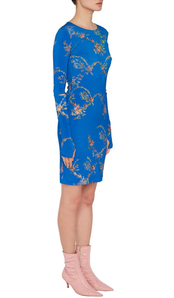 Sonia Dress Blue Garland
