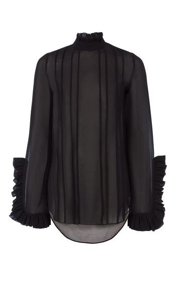 PF18 CATALINA BLOUSE BLACK