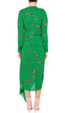 Teresa Dress Emerald Garland