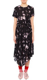 Lois Dress Wild Flower Black