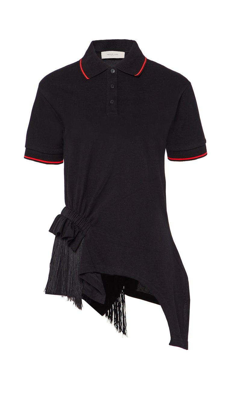 Black Mimi Polo Shirt