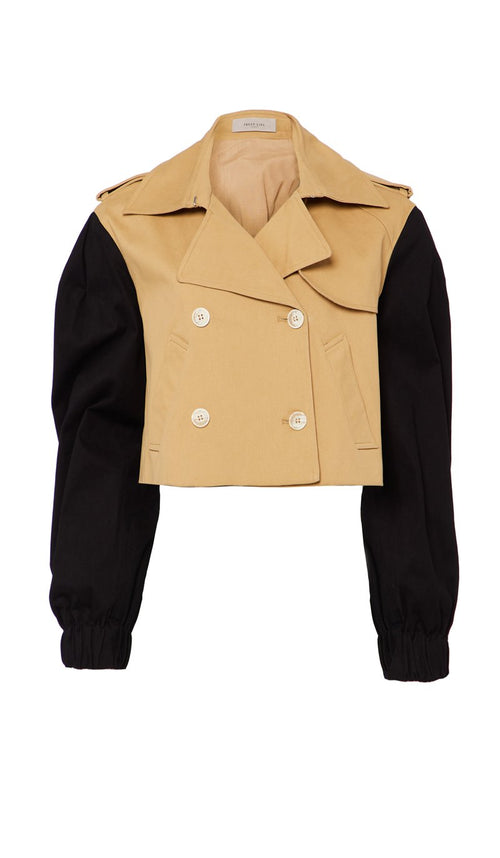 Ara Jacket Camel and Black