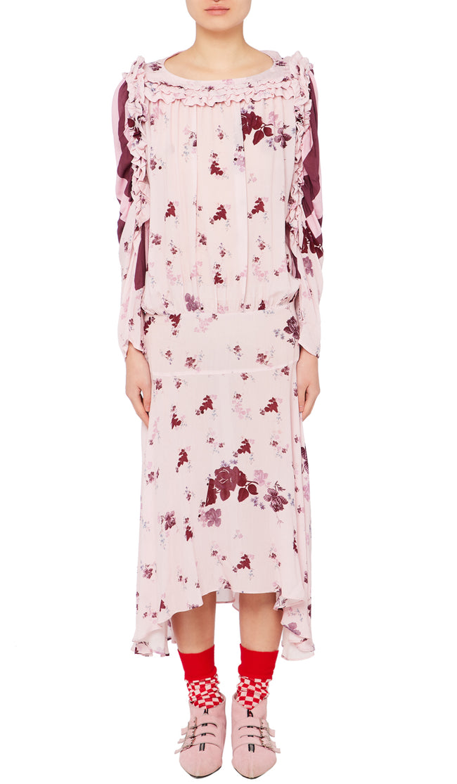 Sora Dress Wild Flower Pink