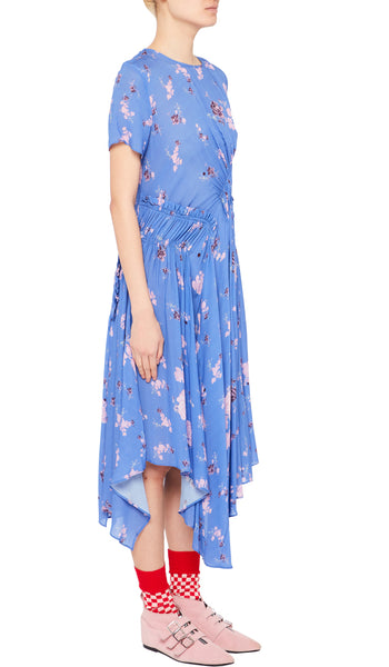 Lois Dress Wild Flower Blue