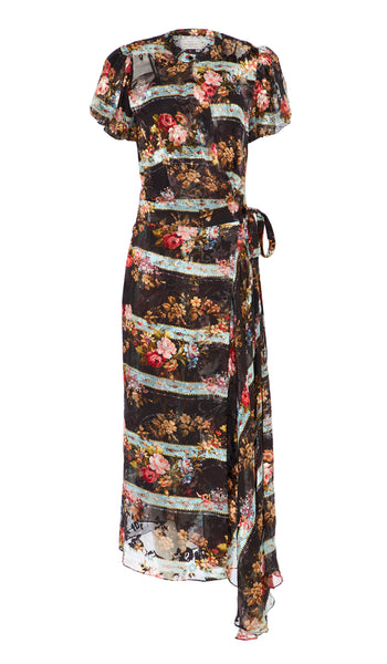 Black Barbed Wire Bouquet Ima Dress