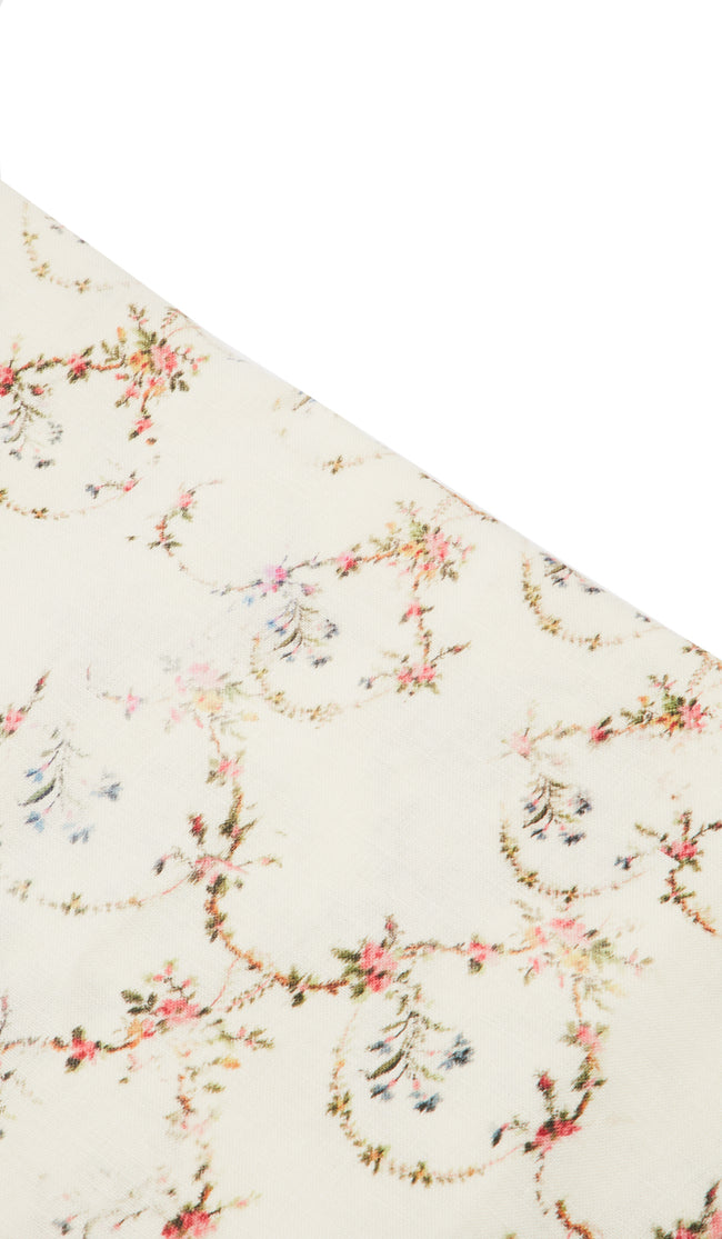 Border Blossom Table Cloth