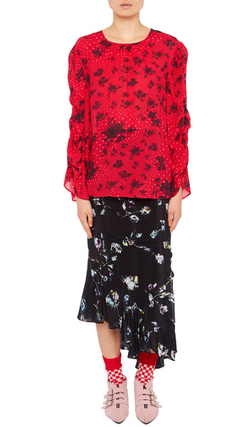 MARGIE TOP RED