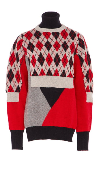 CHARLIE KNIT RED
