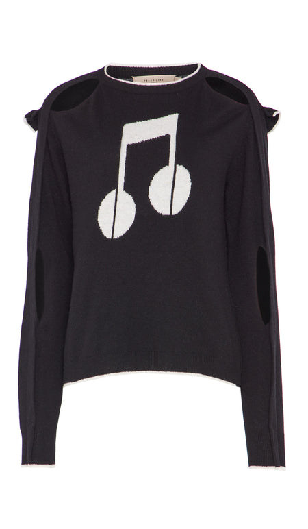 ALLY SWEATSHIRT BLACK