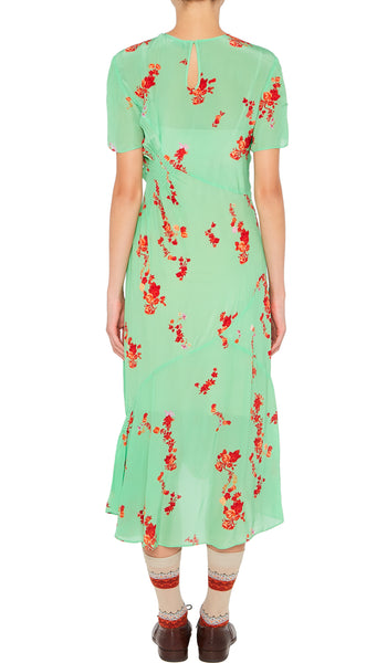 SERELIDA DRESS PISTACHIO