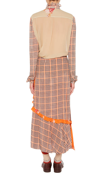 NEVAH SKIRT ORANGE