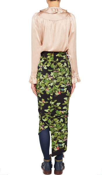 YADINNA SKIRT OAK-LEAF