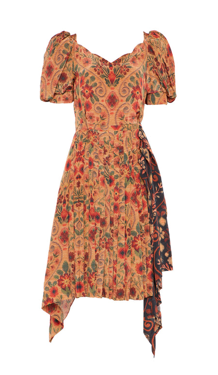 EDANA DRESS OAK-LEAF