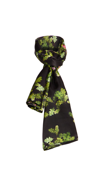 The Exclusive Large Oak-Leaf Scarf