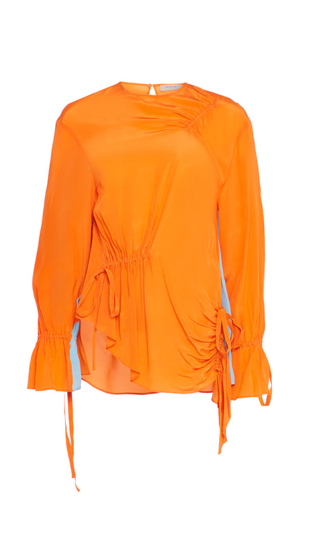 ALLY SWEATSHIRT ORANGE