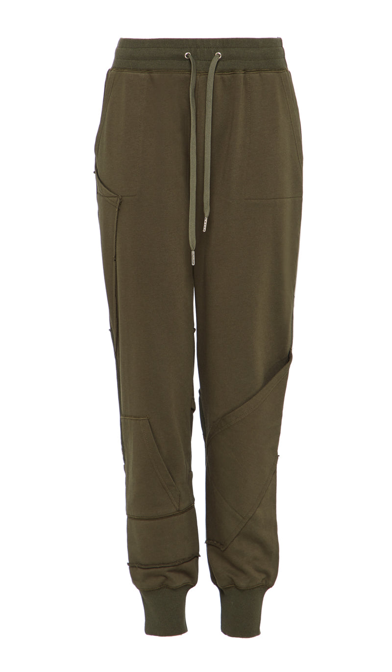 AISHA SWEATPANTS KHAKI