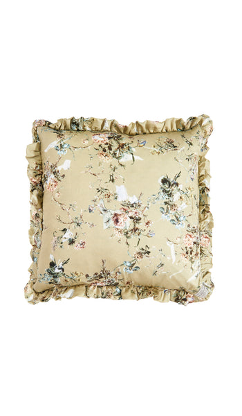 Border Blossom and Stoned floral cushions