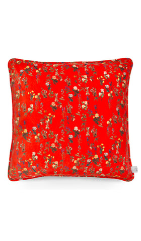 EXCLUSIVE Cushion Red Velvet