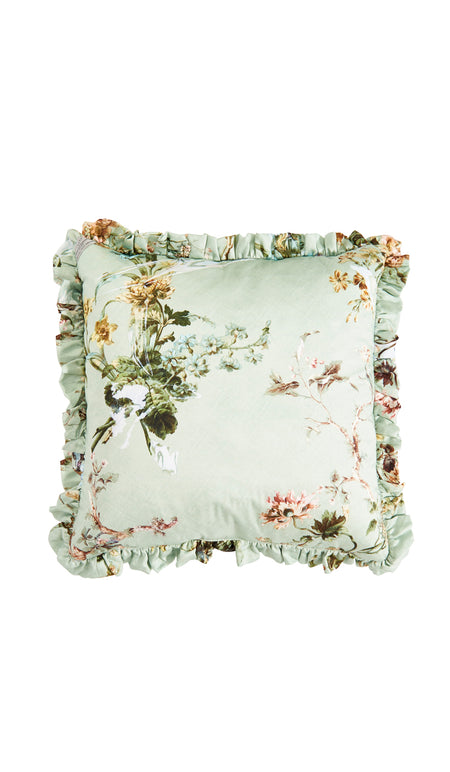 LARGE DECOUPAGE QUILTED EIDERDOWN
