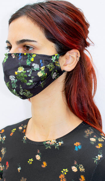 HERITAGE FLORAL FACE COVERING