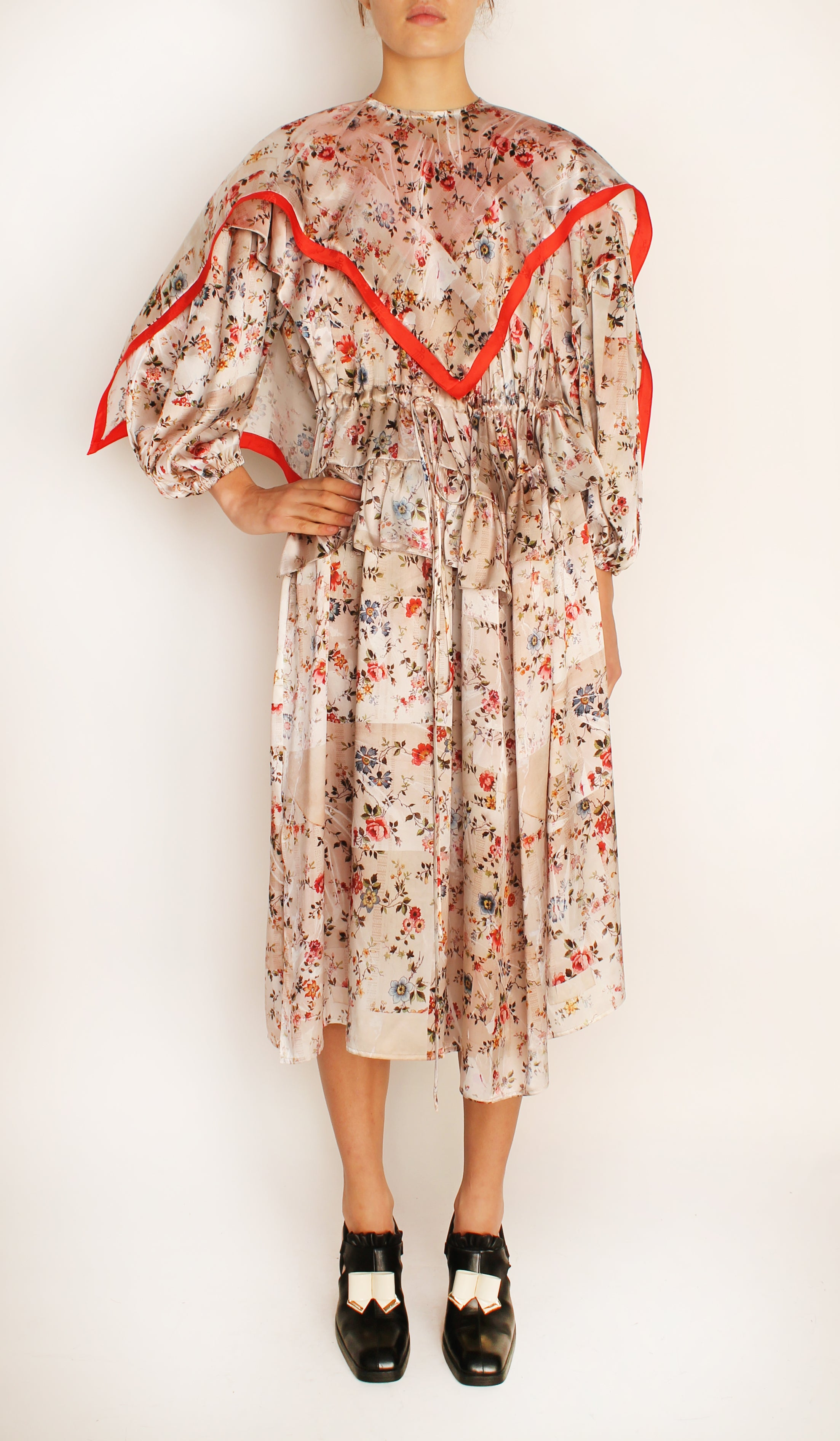 PRE-ORDER HENRIETTE DRESS WITH SCARF