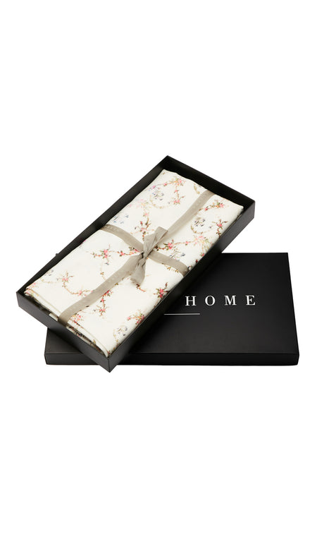 EAU DE NIL FLORAL SET OF 4 NAPKINS