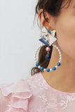 06-08-01 KAORI CLIP-ON EARRINGS BY PREEN X VICKI SARGE