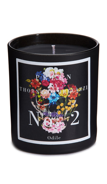 PREEN BY THORNTON BREGAZZI LUXURY DESIGNER HAND POURED ODILE SCENTED CANDLE WITH AROMATIC BASIL, THYME AND TARRAGON