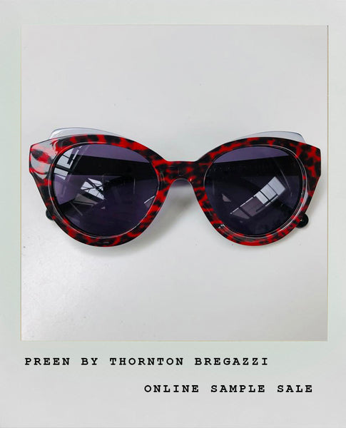 RED TORTOISE SHELL SUNGLASSES