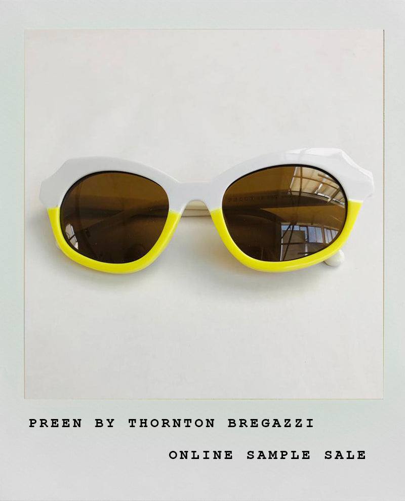 TWO TONE YELLOW SUNGLASSES