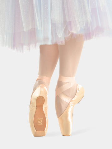 Gaynor Minden Pointe Shoe- YELLOW