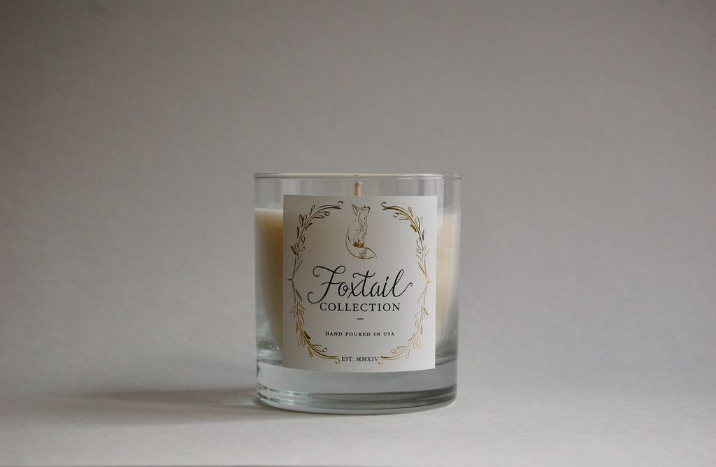 Balsam & Aspen Leaf - Standard Glass Candle