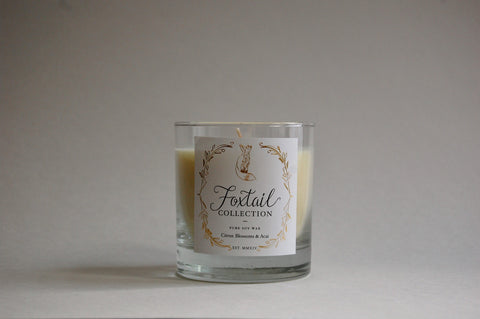 Citrus Blossoms & Acai - Standard Glass Candle