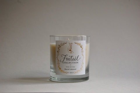 Moss & Cedarwood - Standard Glass Candle