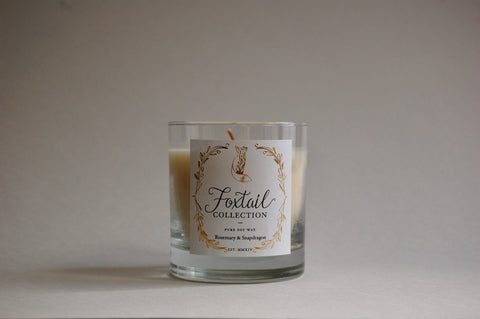 Rosemary & Snapdragon - Standard Glass Candle