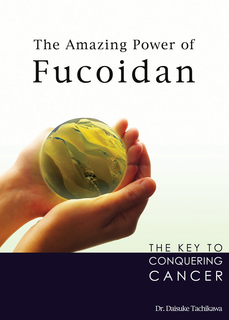 Fucoidan book written by Medical Doctor Daisuke Tachikawa