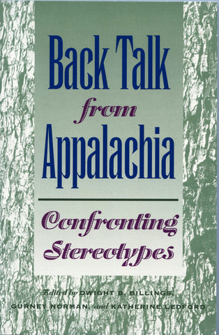 Back Talk from Appalachia Confronting Sterotypes