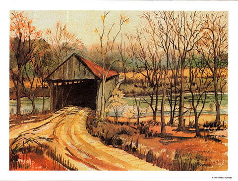 Covered Bridge Print