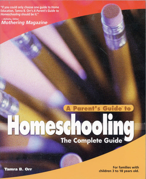 Parents Guide to Homeschooling