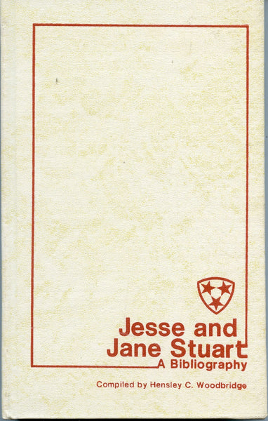 Jesse and Jane Stuart: A Bibliography